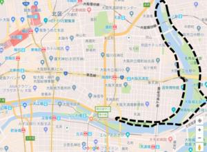大川花見スポット地図