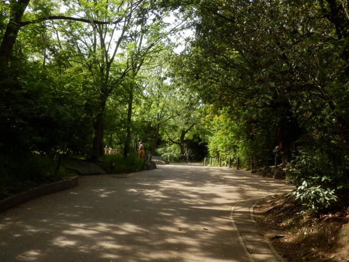 天王寺動物園園内
