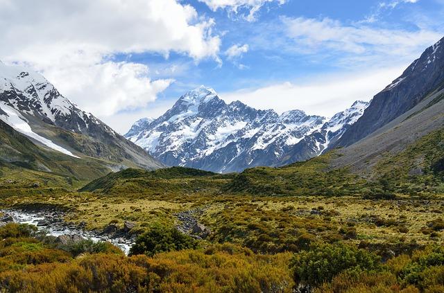 ニュージーランド風景-マウントクック