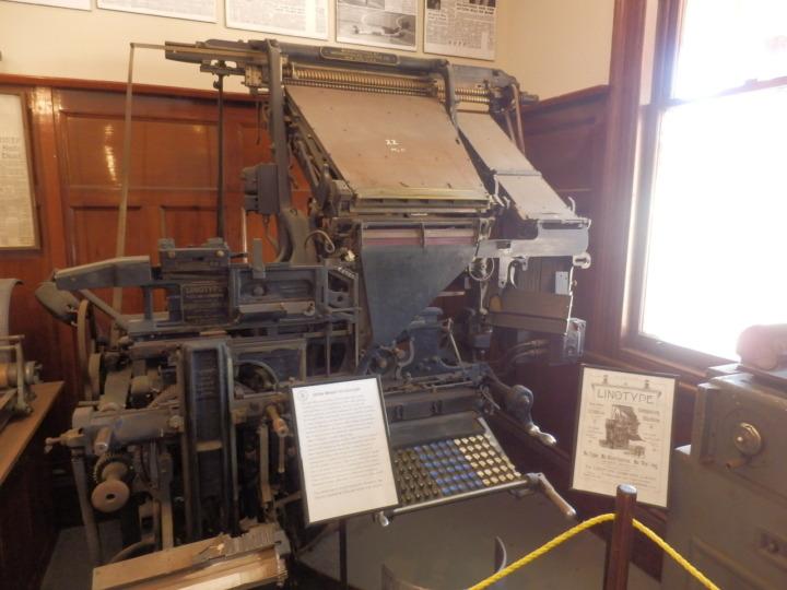 19世紀-ニュージーランド-印刷機器