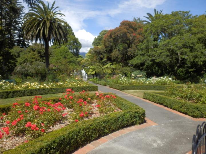 ヴィクトリア・パーク-花園
