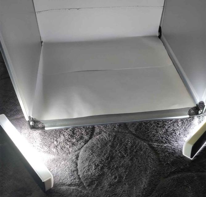 撮影ボックス-LEDライト